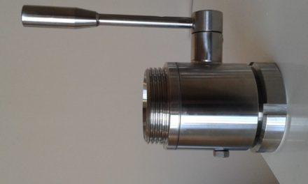 Доставка на неръждаеми сферични кранове по DIN